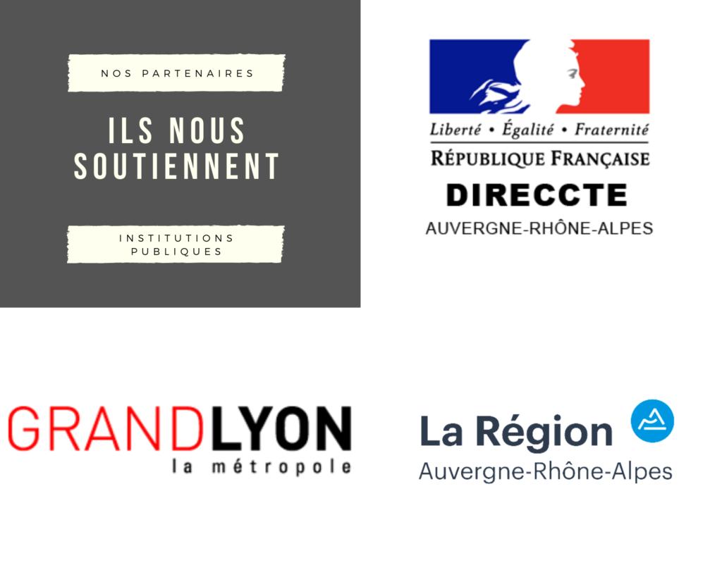 La Direccte, La région Auvergne Rhône Alpes, Grand Lyon la métropole.